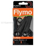 McCulloch Flymo Plastic Cutter Blades