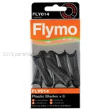 Jonsered Flymo Plastic Cutter Blades