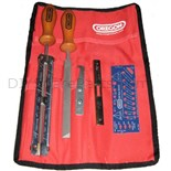 "Oregon Sharpening Kit and Pouch, 4.00mm (5/32"") - 1/4"" , 3/8"" LowPro"