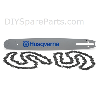 "Husqvarna  Bar & Chain Kit H30 15"" 1Bar+2 - 5310038-92"