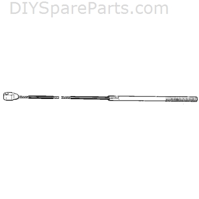 Mountfield Steering Cable L/H - 1134-2817-01